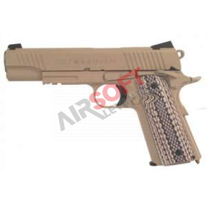 Colt M45A1 - 1911 Rail Gun Co2 - Tan