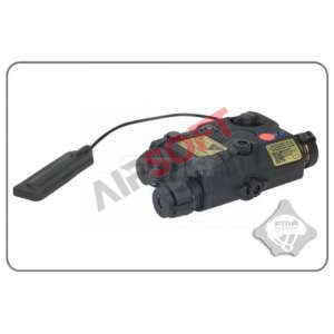 An/Peq-15 FMA Linterna Laser Rojo Negro