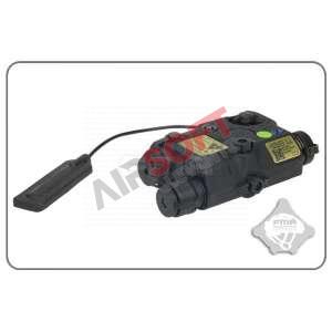 An/Peq-15 FMA Linterna Laser Verde Negro