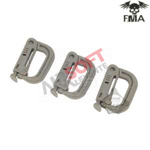 Fastener PVC FMA Pack 3 Und Tan