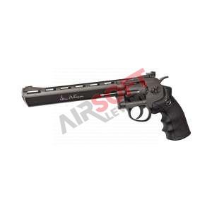 """Revolver ASG Dan Wesson 8"""" CO2 - 1 J Negro"""