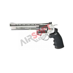 "Revolver ASG Dan Wesson 6"" Co2 1J - Stainless"
