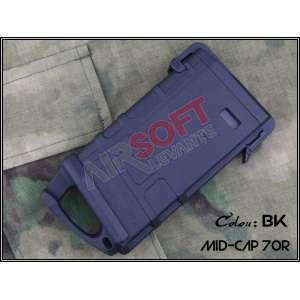 Midcap M4 corto 80 bbs - Negro