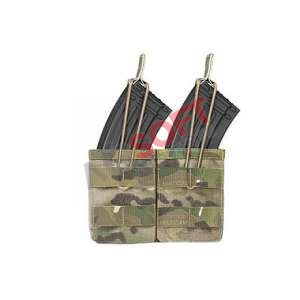 Porta cargadores Doble AK - Multicam - Warrior