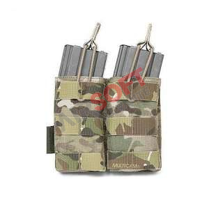 Porta Cargador doble 5.56 open - Multicam - Warrior
