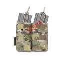 Porta Cargador doble 5.56 open - Multicam - Warrior