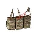 Porta Cargador Triple AK - Multicam - Warrior