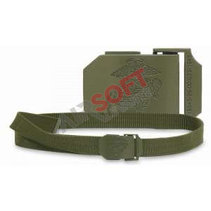 Cinturon estrecho Mil-Tec USMC OD
