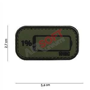 Parche batería baja verde