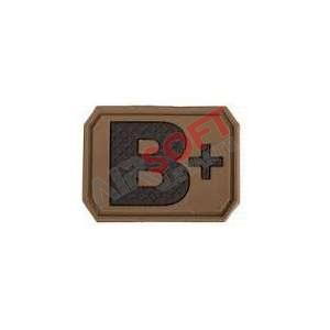 Parche 3d B+ - Tan