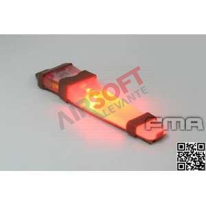 Luz V-lite FMA Velcro Roja