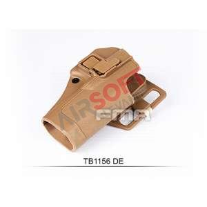 Funda Pistola Rigida G17 FMA - TAN
