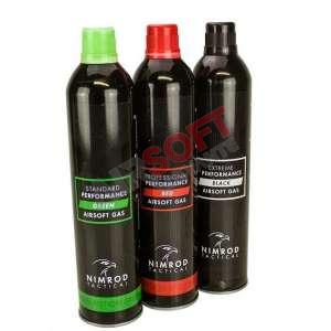 Gas Nimrod NEGRO - Rendimiento Extra Fuerte - 500 ml.