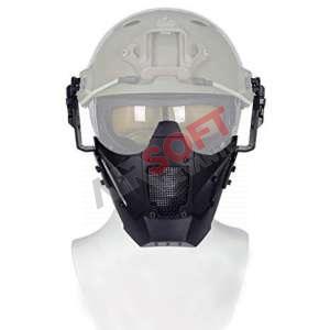 Iron Warrior Mask SHF - Negro