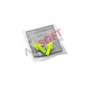 tapones silicona tiro - amarillos - earmor