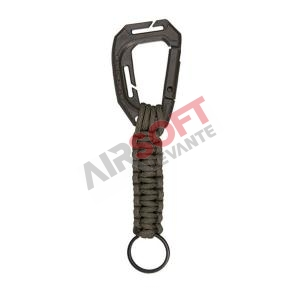 MOSQUETON TACTICO PARACORD LANYARD VERDE