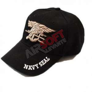 Gorra Navy Seal NEGRO