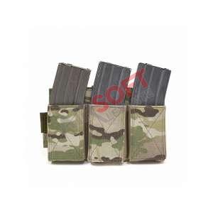 Porta-Cargadores Triple Elastico (Warrior) - Multicam