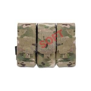 Porta-Cargador Triple Clasico M4 (Warrior) - Multicam