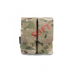 Pouch Doble M4 Normal - Multicam - Warrior