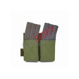 Porta Cargadores Doble Elastico M4 - Warrior