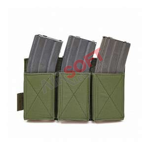 Porta Cargadores Triple Elastico M4 - Warrior