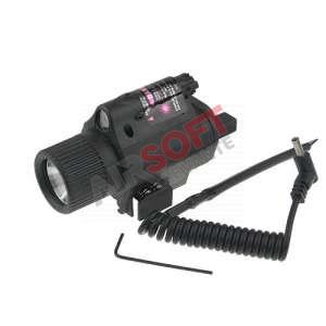 Modulo Linterna M6 con Laser rojo.