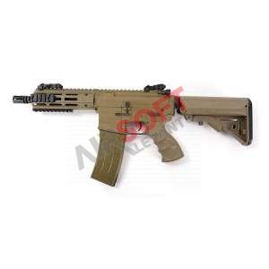 """M4 Recon AEG Shorty 6"""" M-Lok - Tippmann (TAN)"""