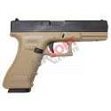 Glock 17 KP17 TAN - KJW