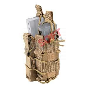 Pouch Simple M4 / 5.56 + cargador Pistola 900D - Defcon 5