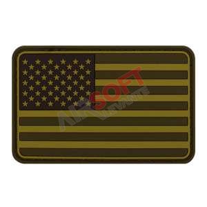 Parche PVC Bandera EEUU