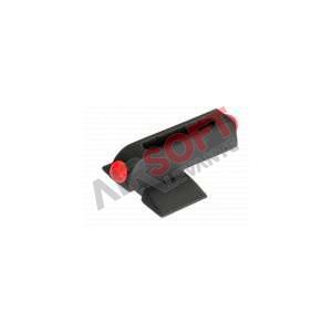 Miras delanteras Fibra optica Glock