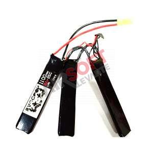Batería Lipo 11.1 - 1100 mah 25C - 3 Elementos - Raccoon