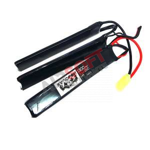 Batería Lipo 11.1 - 1300 mah 25C - 3 Elementos - Raccoon