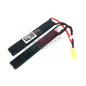 Batería Lipo 7.4 - 1300 mah 25C  - 2 Elementos - Raccoon