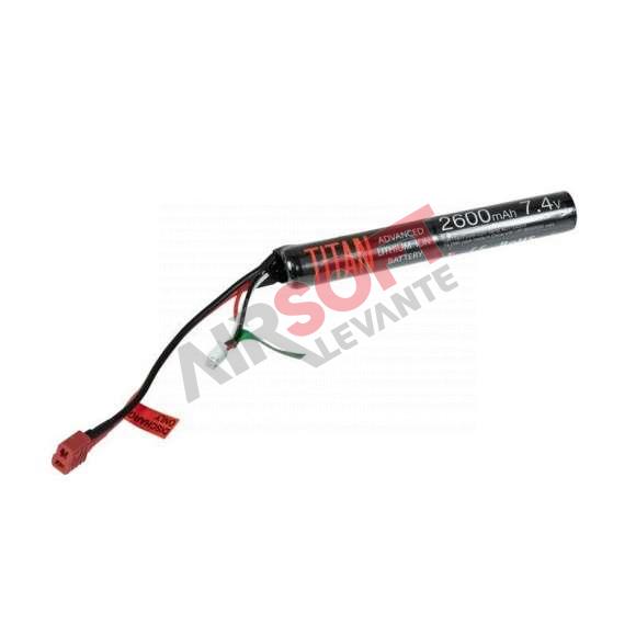Bateria Lipo V2 TITAN - 7.4v - 2600 mah