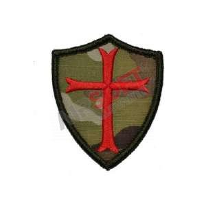 Parche Bordado - Escudo Cruzado Multicam