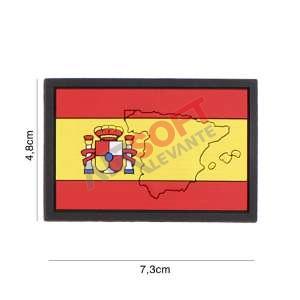 Parche PVC Bandera Mapa - España