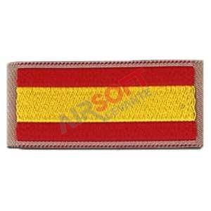 Parche Bandera hombro pequeña - Borde TAN