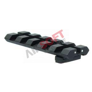 Rail Porta miras / Alza trasera GLOCK - APS