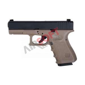 Pistola GLK23 SAIGO - Tan