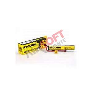 Bateria RACCOON PRO 1250mAh 25/50C 7.4V stick (TDEAN)