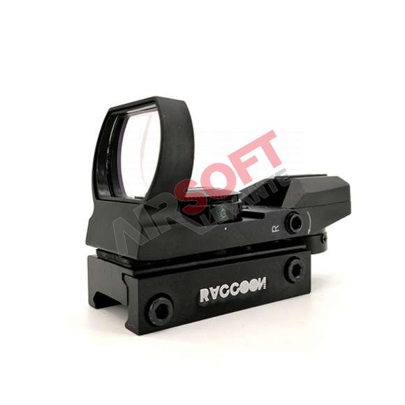 Red Dot Raccoon Akedo - Negro