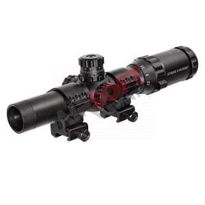 Visor Short Dot ASG - 1-4 x...