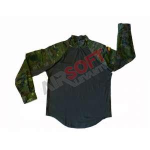 Camisa antifragmentos Boscoso Pixelado