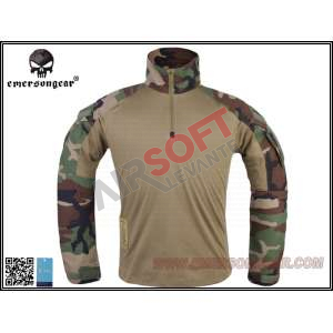 Camisa Combate G3 EMERSON - Woodland