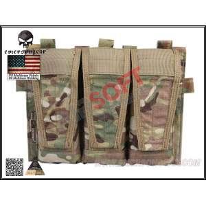 Pouch Triple M4 AVS (Velcro) EMERSON