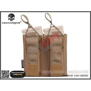 Porta-Cargadores Dobles M4 + Pistola - EMERSON