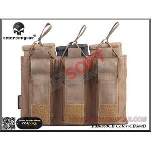 Porta-Cargadores Triple M4 + Pistola EMERSON