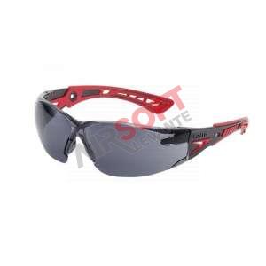 Gafas Bollé Rush+ Negra Patilla Roja